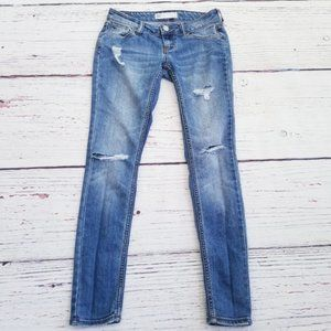 Tilly's RSQ Ibiza Distressed Skinny Jeans